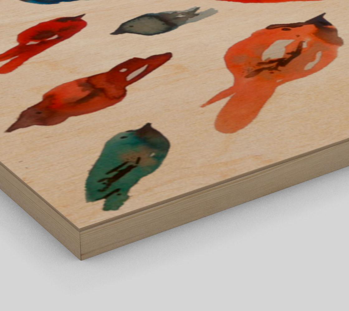 Wall art Little Fish Birds preview #3