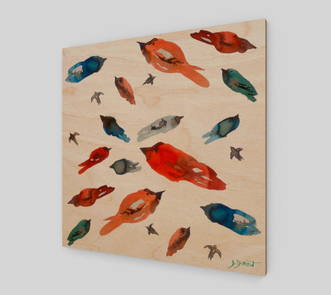 Wall art Little Fish Birds preview #1