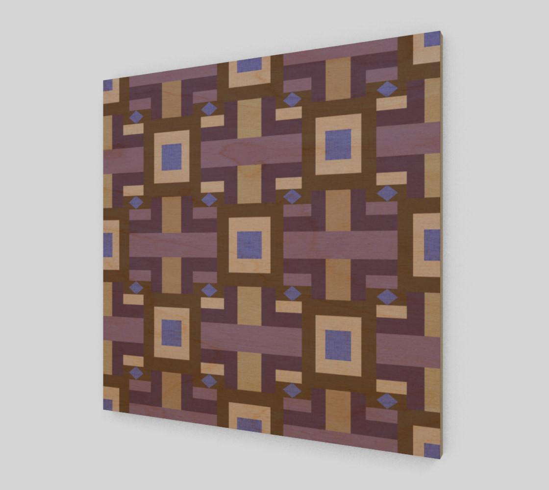 Aperçu de Winter geometry pattern #1