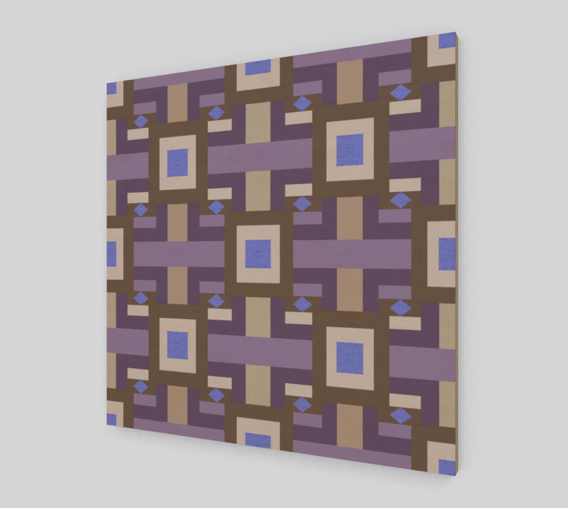 Aperçu de Winter geometry pattern #2