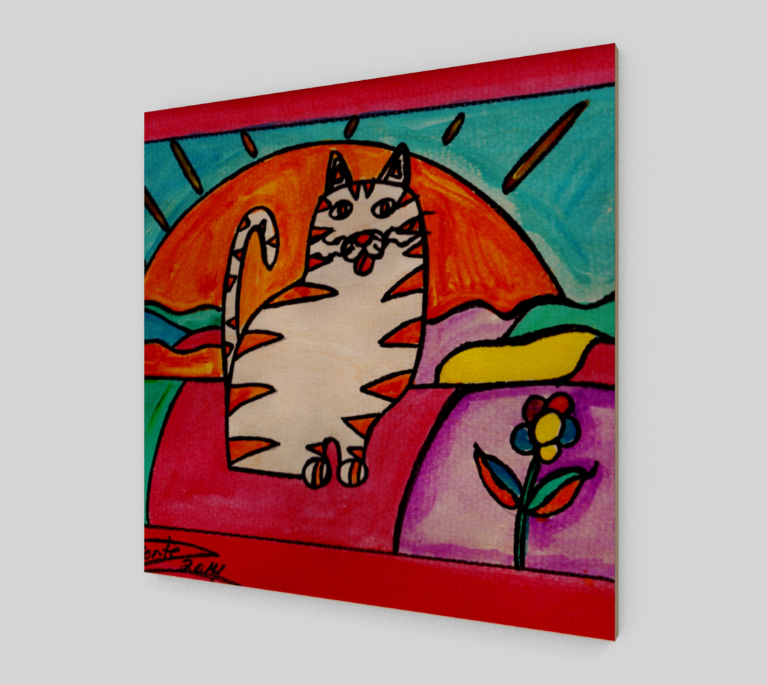 Cat in the Sunset thumbnail #2