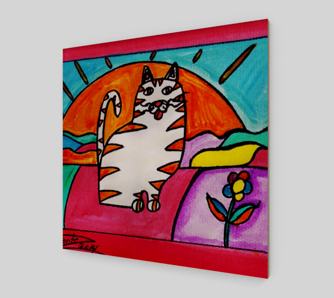 Cat in the Sunset preview #2