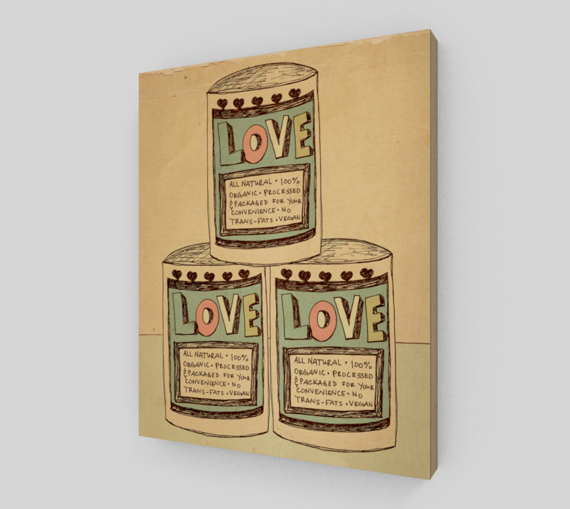 Canned Love 8x10 preview #2