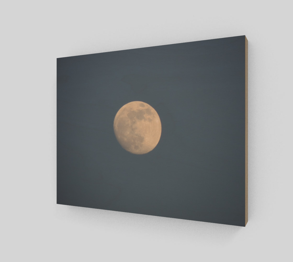 Moon and blue sky Art Print preview #2