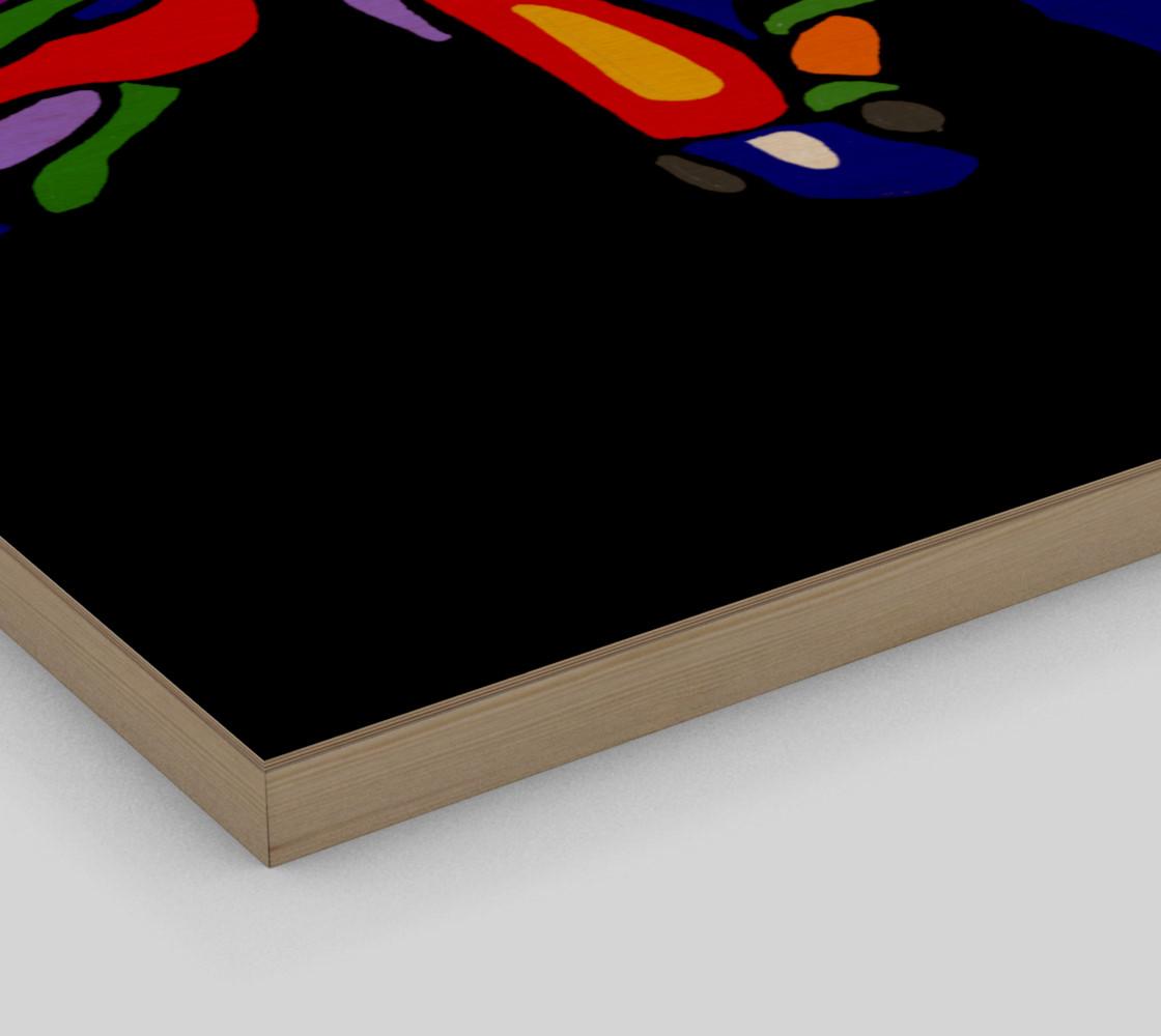 Aperçu de Colorful Horses Abstract Art #3
