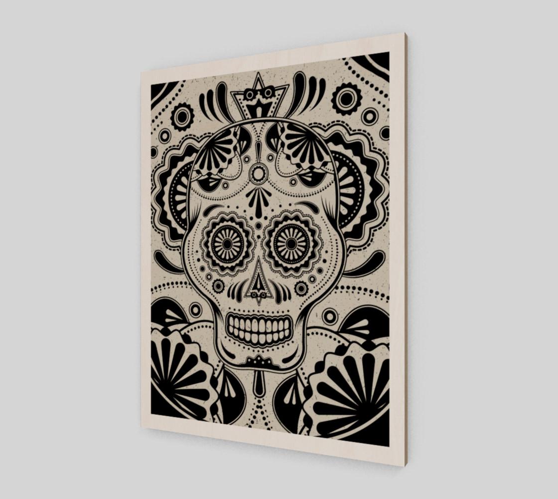 Sugar Skull Aztec Art preview #2