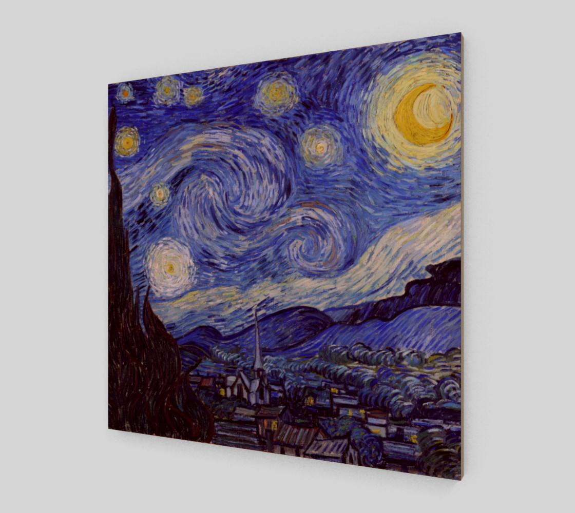 Vincent Van Gogh Starry Night Art Print preview #2