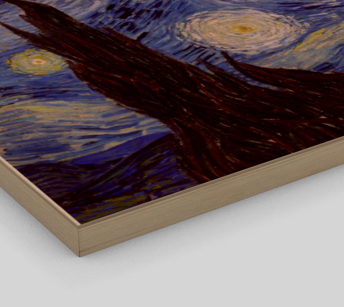 Vincent Van Gogh Starry Night Art Print preview #3