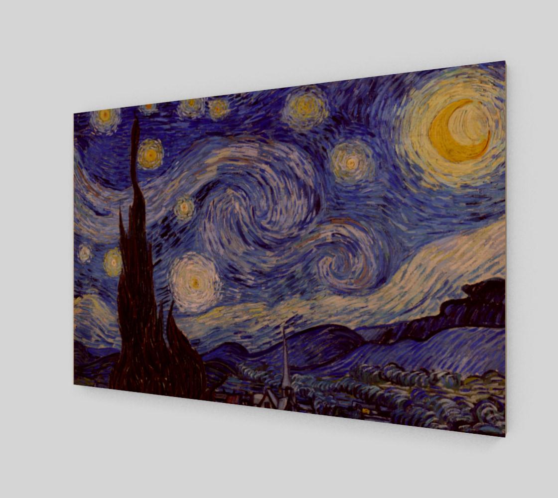 Vincent Van Gogh Starry Night Art Print preview #1