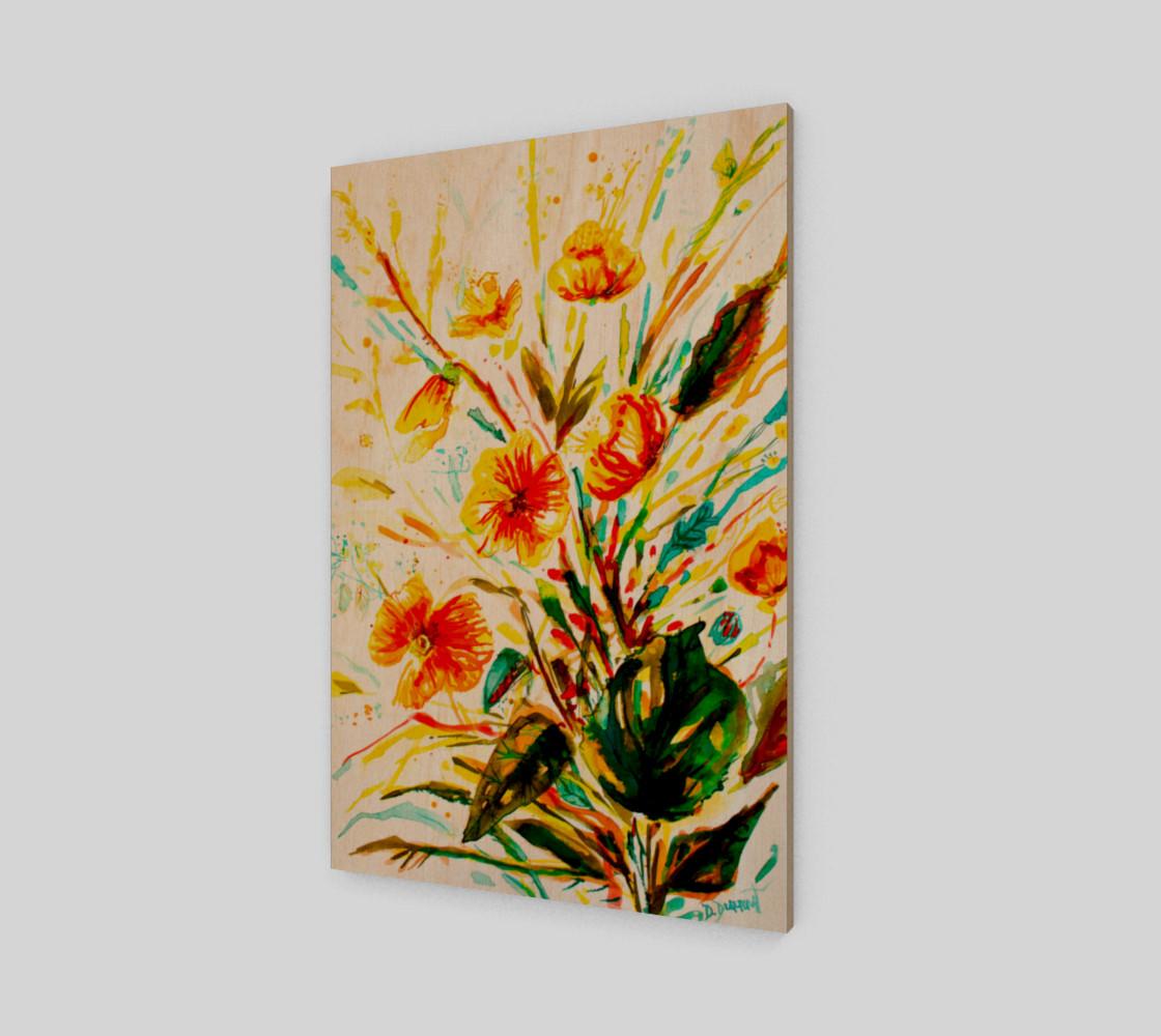 wall_art-Mustard Flowers preview #1