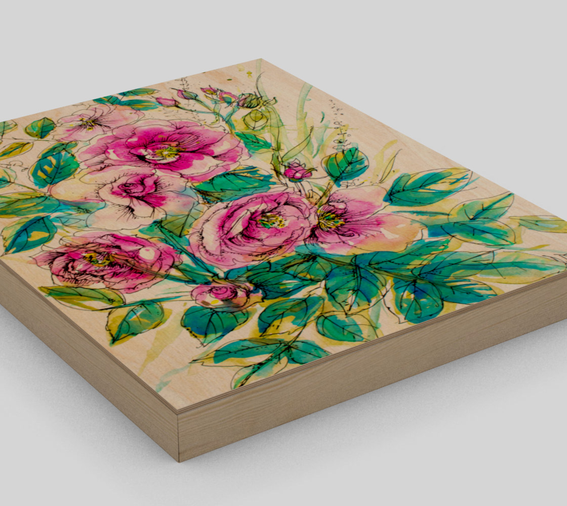 wall-art_Wild Roses for Me preview #3