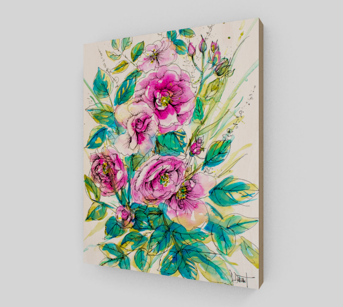 wall-art_Wild Roses for Me preview #2