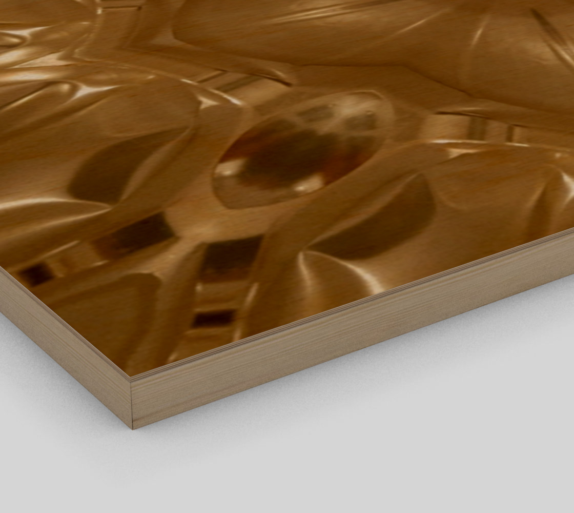 Aperçu de Elegant Gold Brown Shimmering Star #3