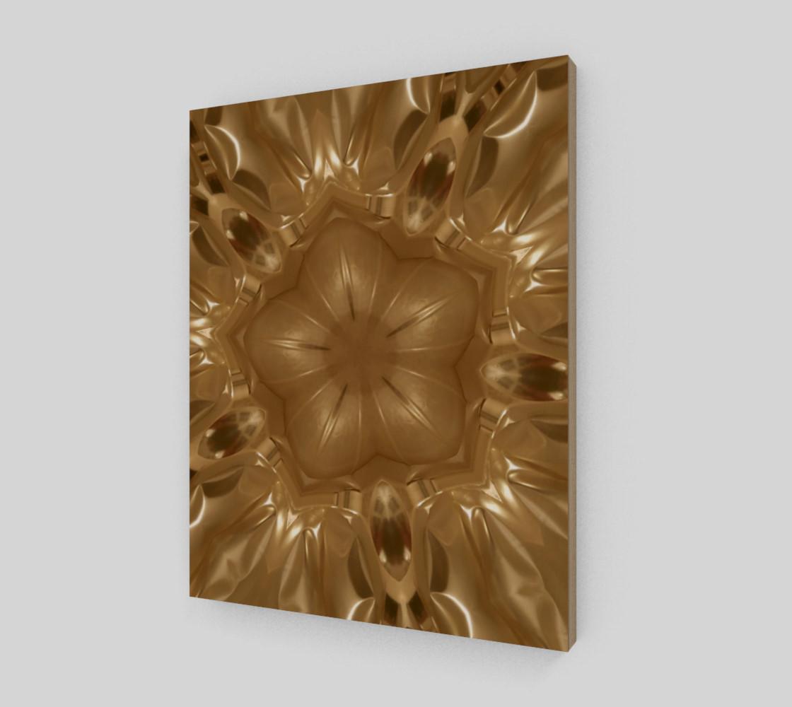 Aperçu de Elegant Gold Brown Shimmering Star #2