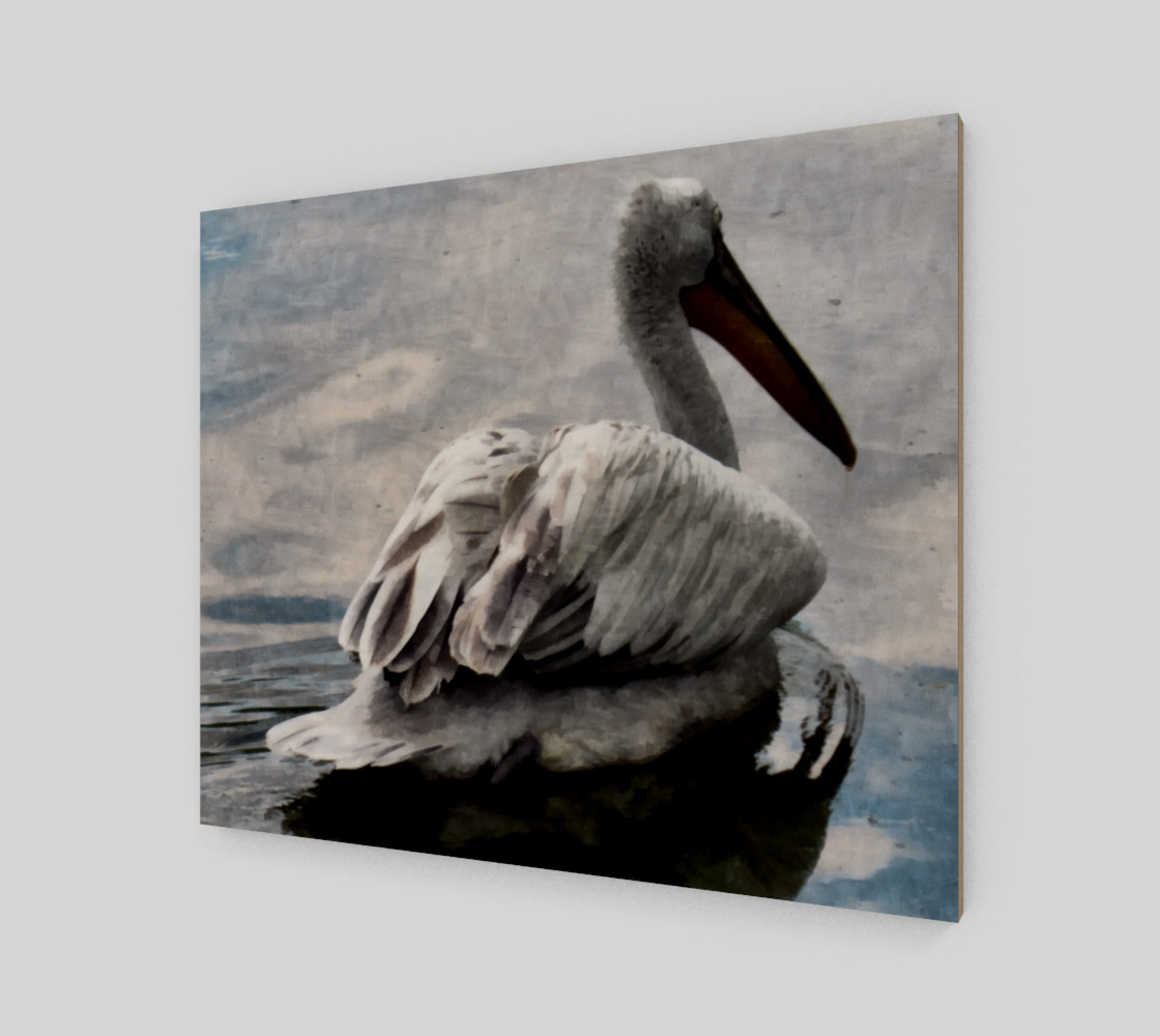 Lonley Pelican(24x20) preview #2