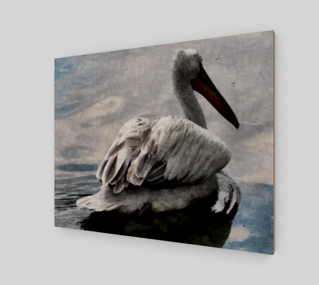 Lonley Pelican(20x16) preview #2