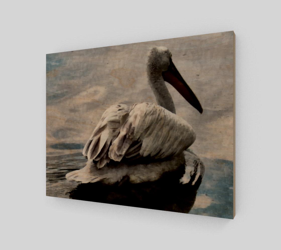 Lonley Pelican(14x11) preview #1