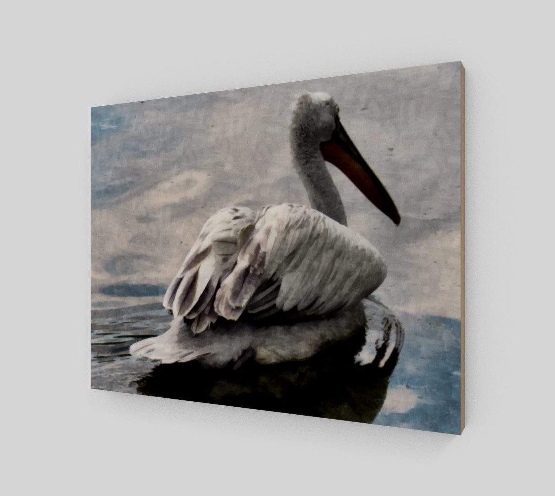 Lonley Pelican(14x11) preview #2