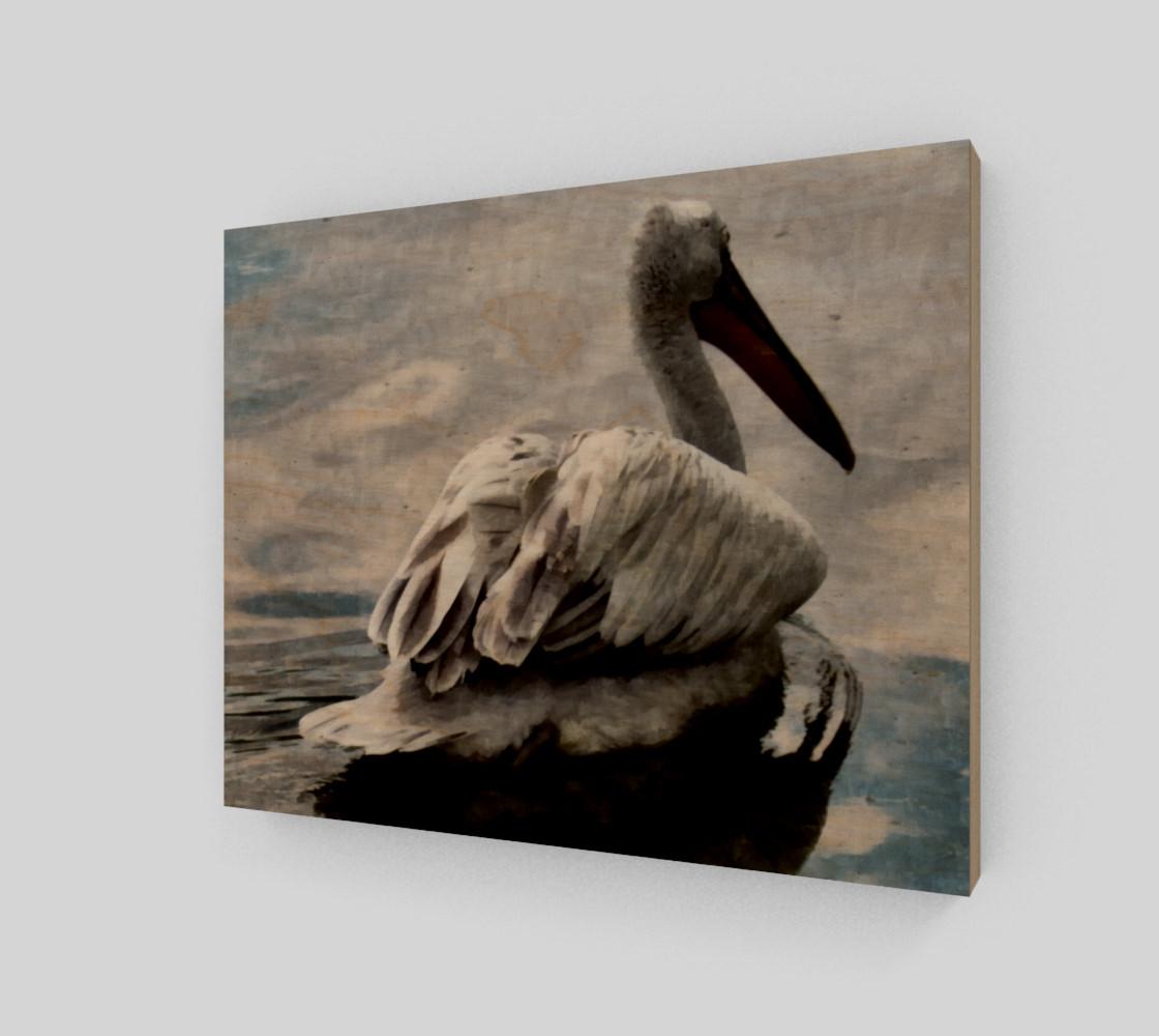 Lonley Pelican(10x8) preview #1