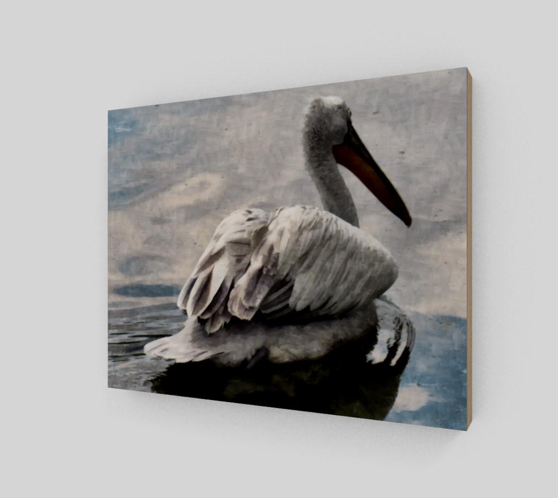 Lonley Pelican(10x8) preview #2
