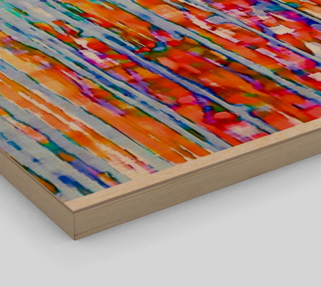 Aperçu de water color in the rain art print large #3