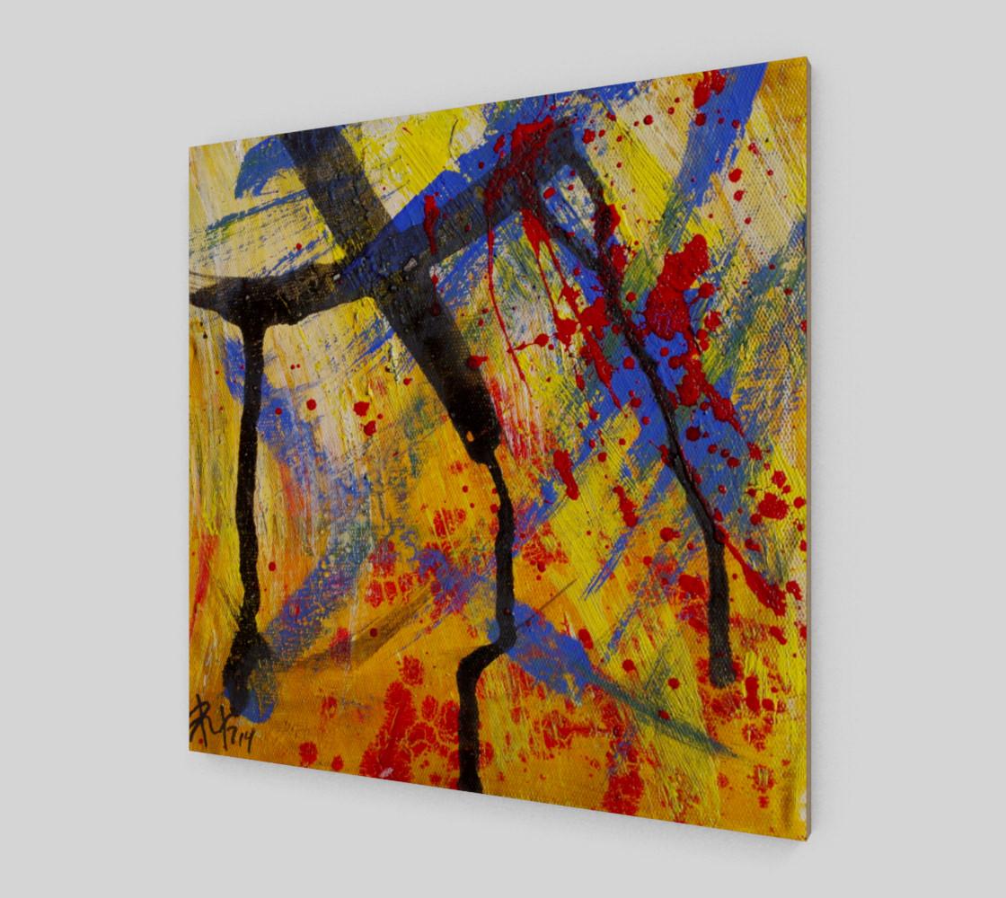 Grunge Paint Splatter Graffiti Abstract preview #2