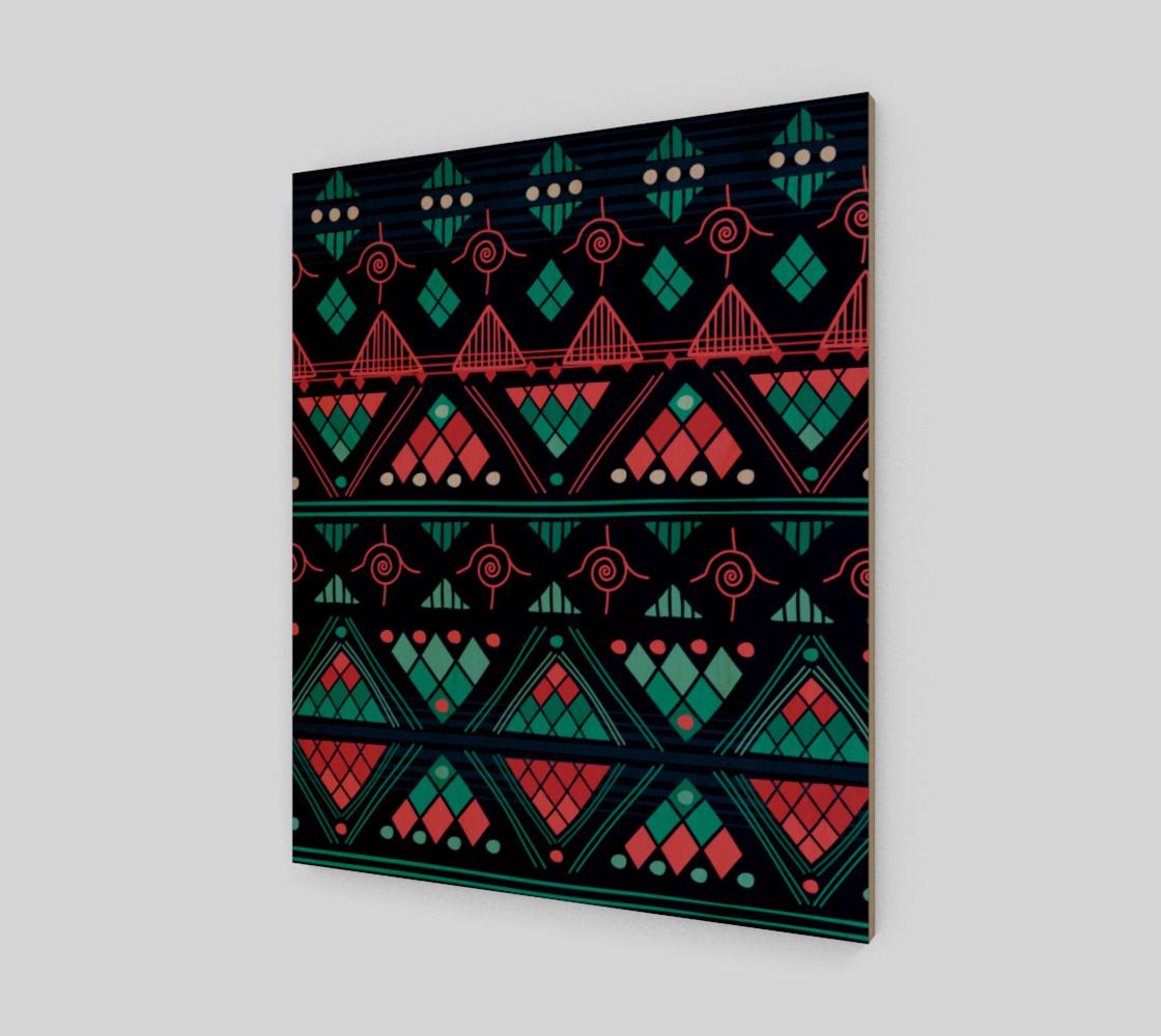 Aperçu de Colorful Aztec Pattern   #1