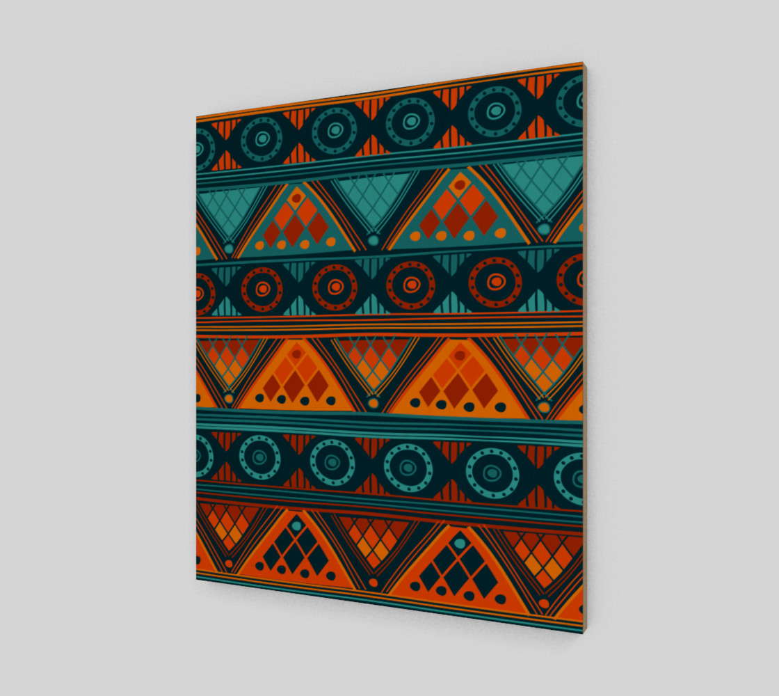 Aperçu de Colorful Ethno Pattern  #2