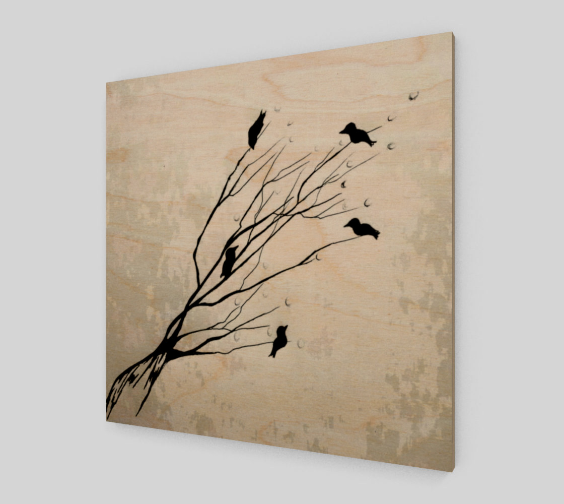 Birds on a branch preview #1