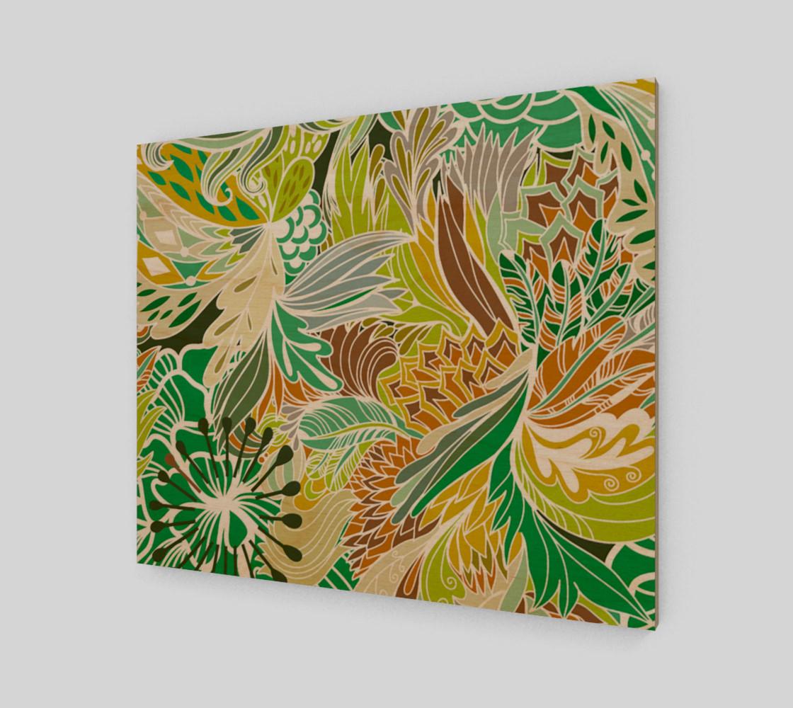 Aperçu de Green Fantasy Flowers  #1