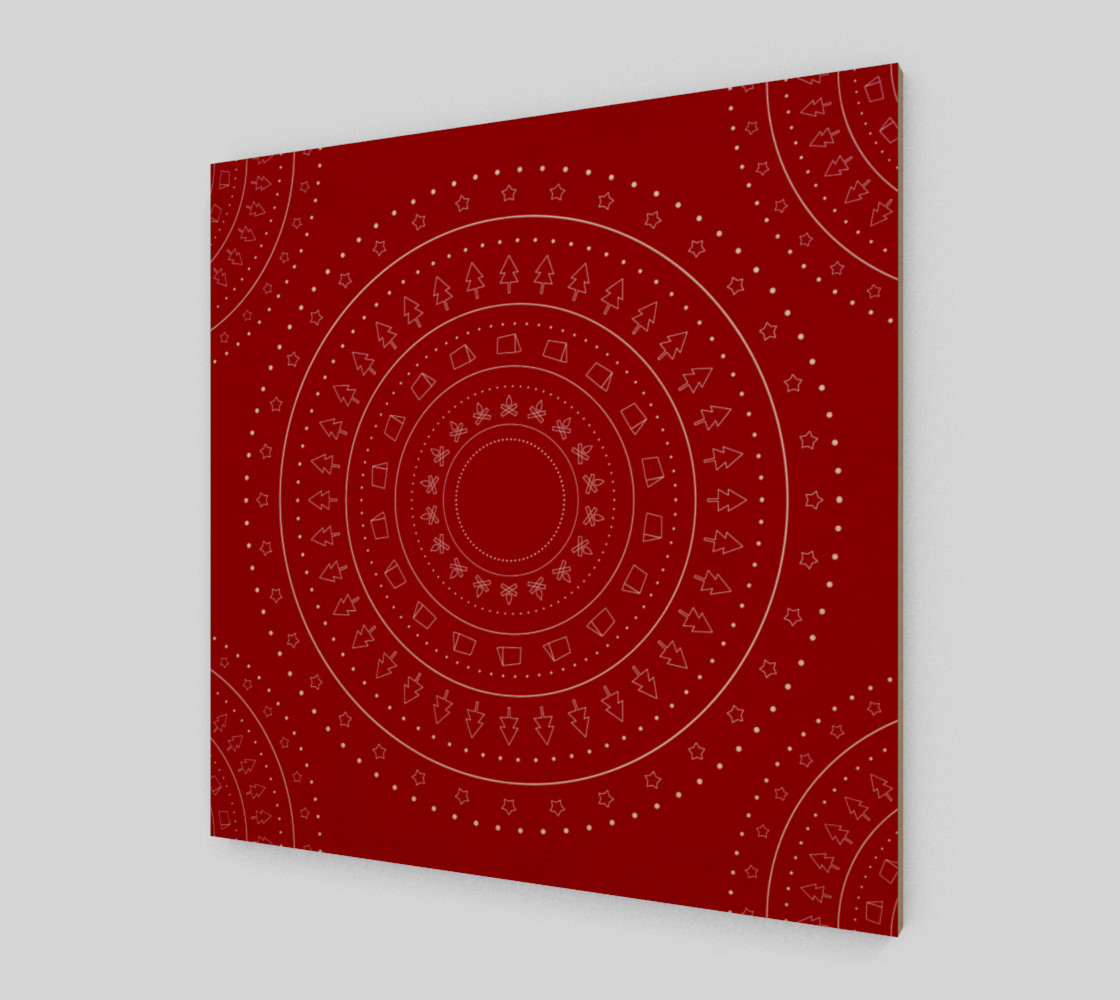christmas geometric objects preview #1