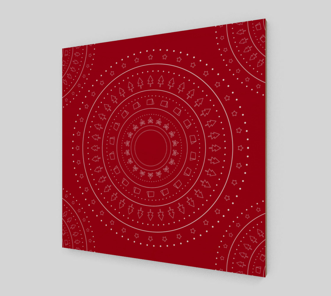 christmas geometric objects preview #2