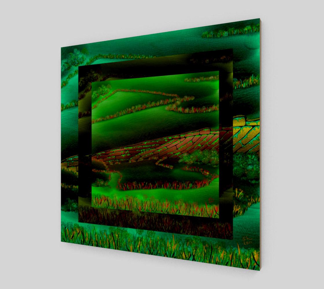 Aperçu de Green And Fences #1