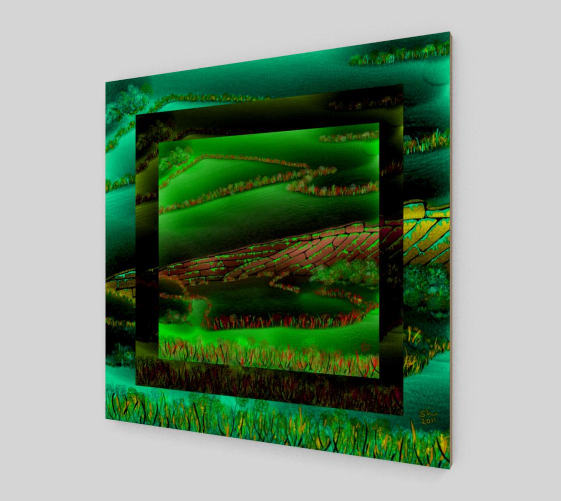 Aperçu de Green And Fences #2