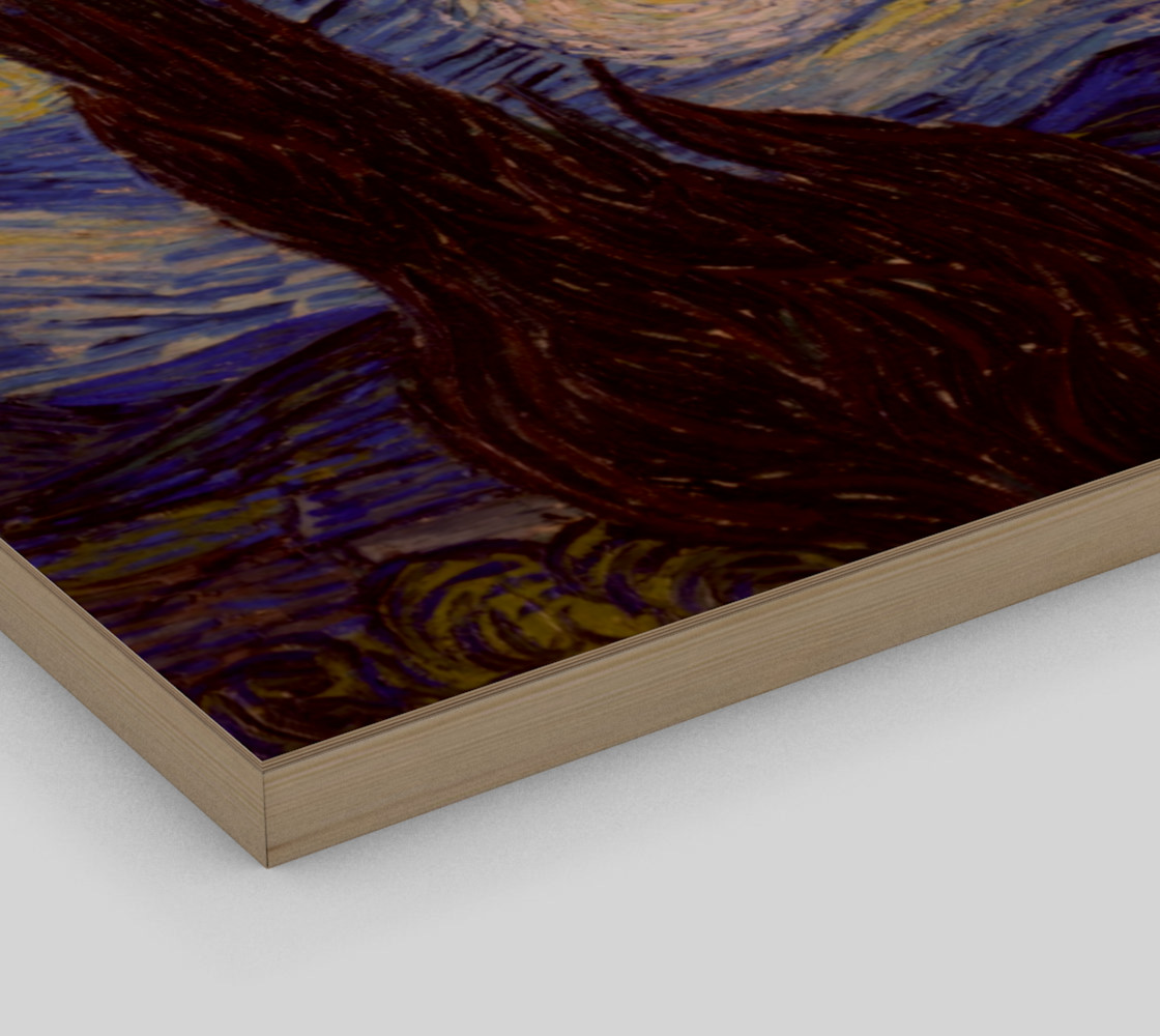 Vincent Van Gogh Starry Night Wall Art preview #3