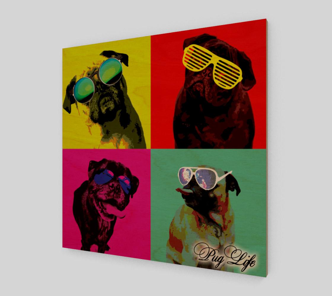 It's a Pug Life WallArt preview #1