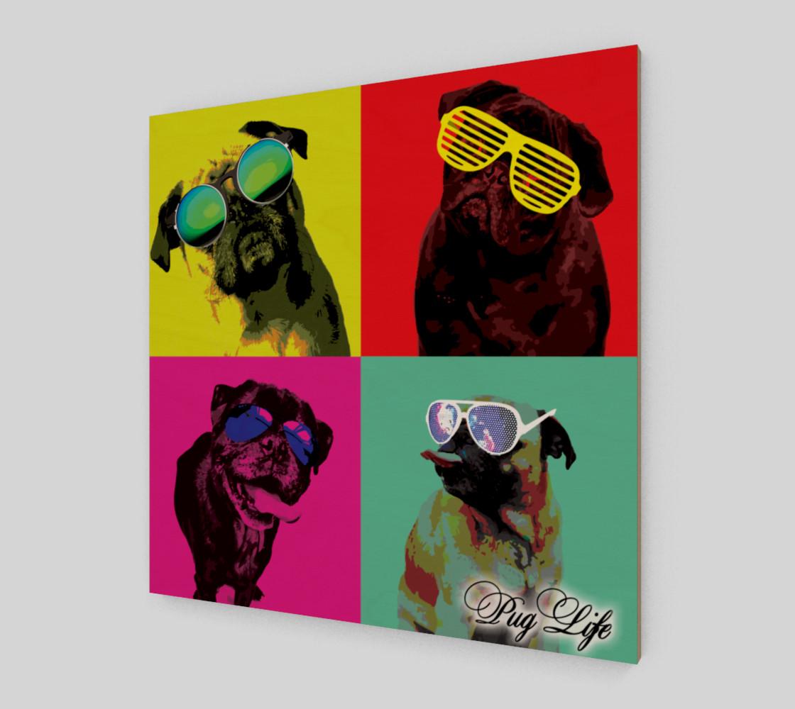 It's a Pug Life WallArt preview #2