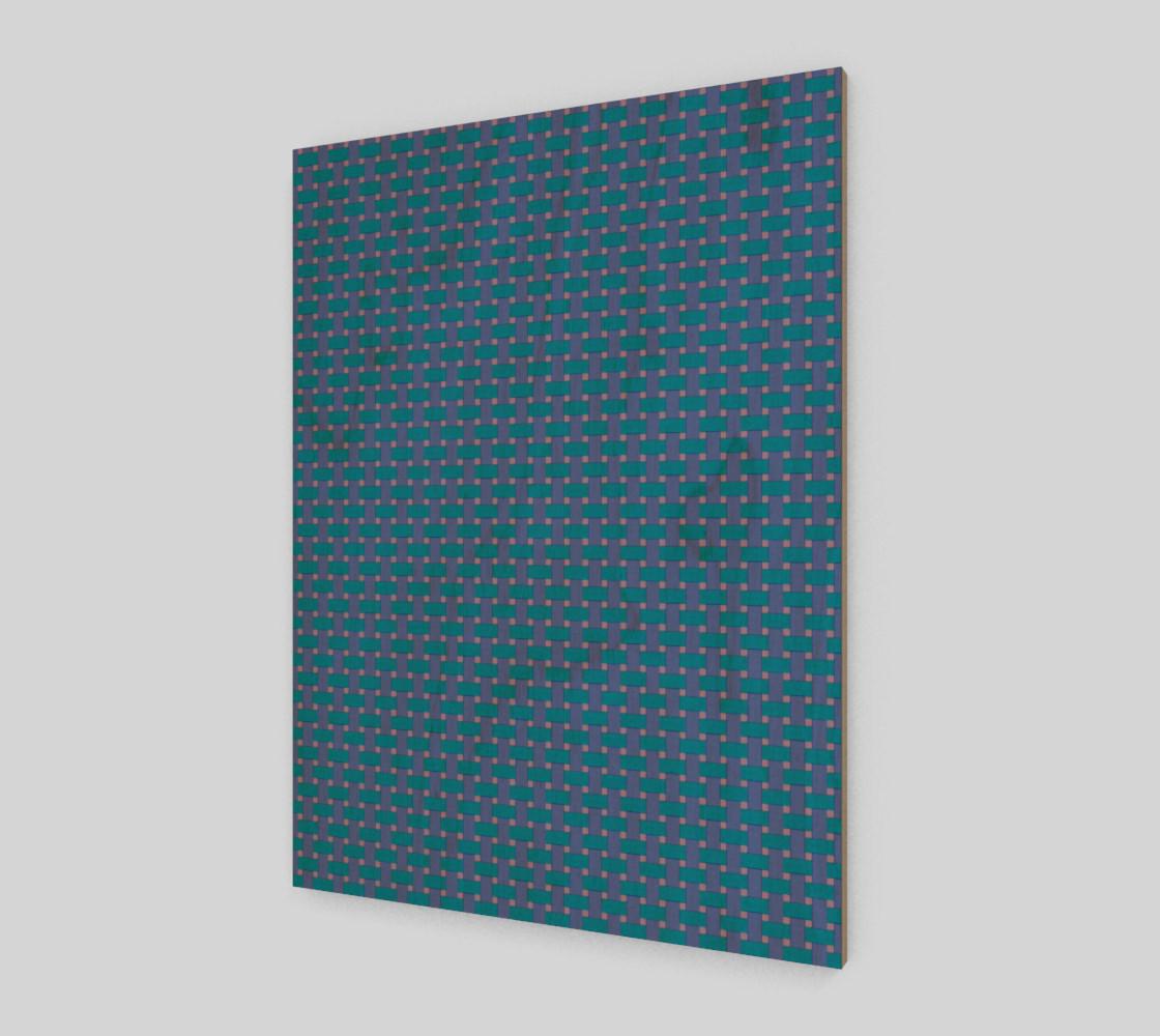 Aperçu de Blue cross hatch #1