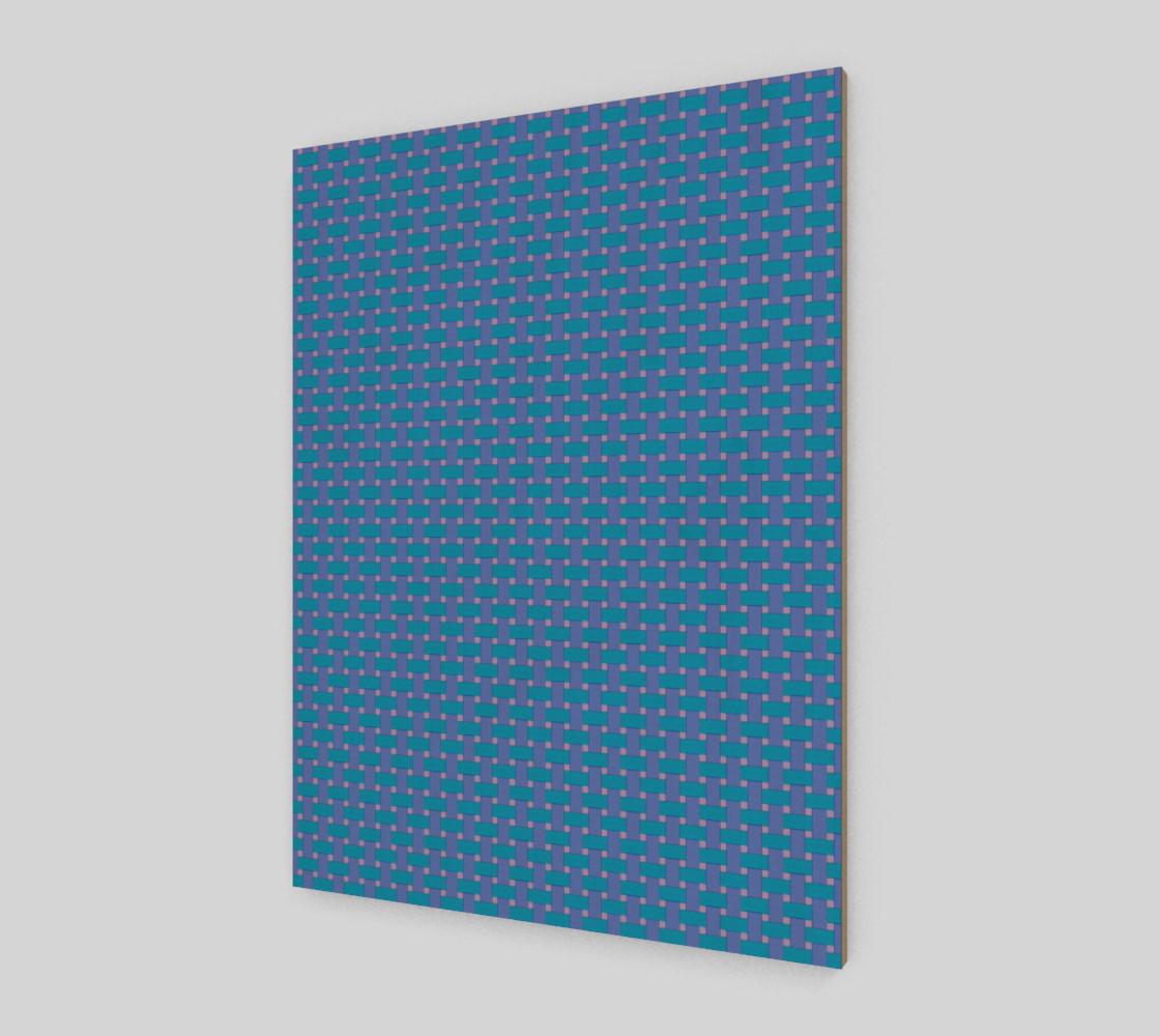 Aperçu de Blue cross hatch #2