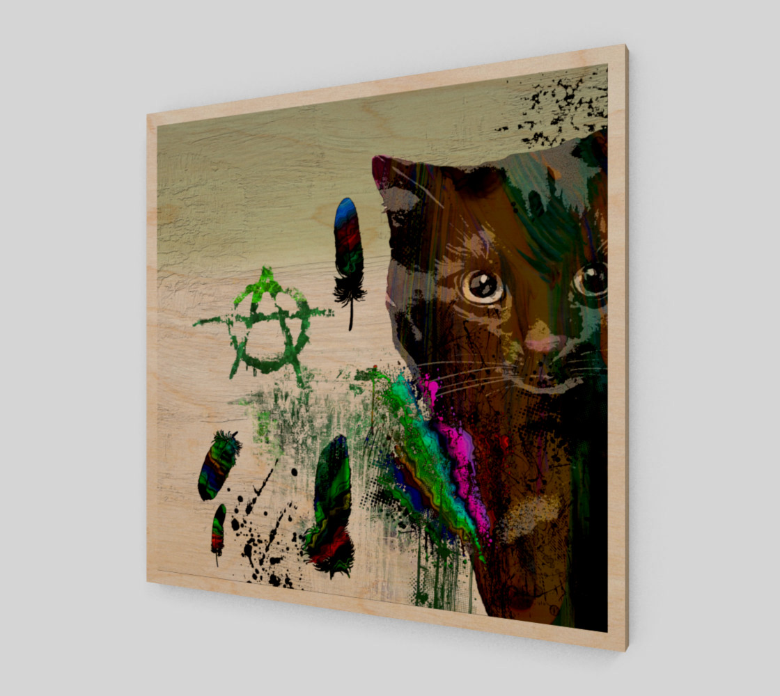 Aperçu de Cat №2 Wall Art Print #1