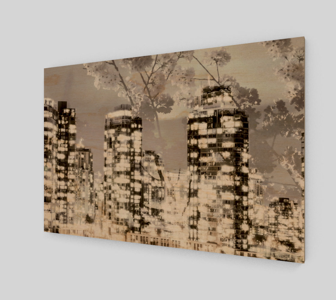 City scape blossoms Miniature #2