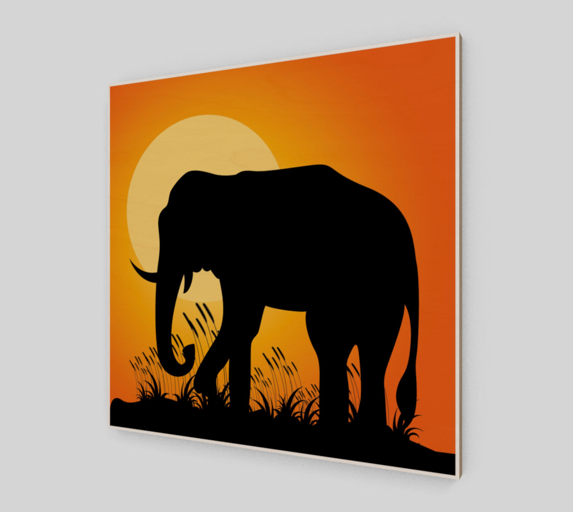 Elephant Silhouette preview #2