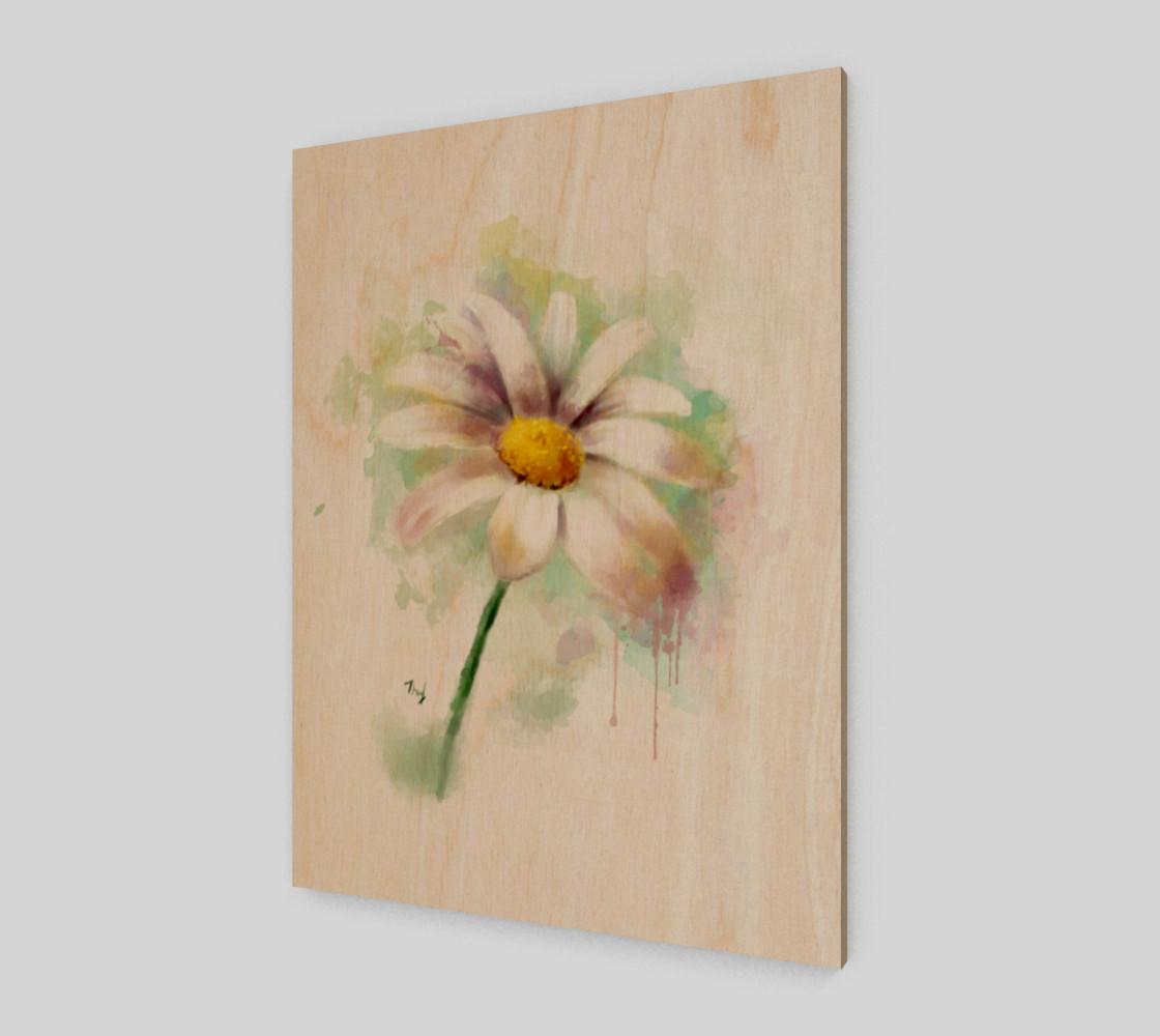 Aperçu de Watercolor daisy #1
