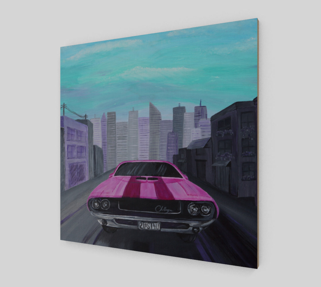 Dodge Challenger Wall Art preview #2