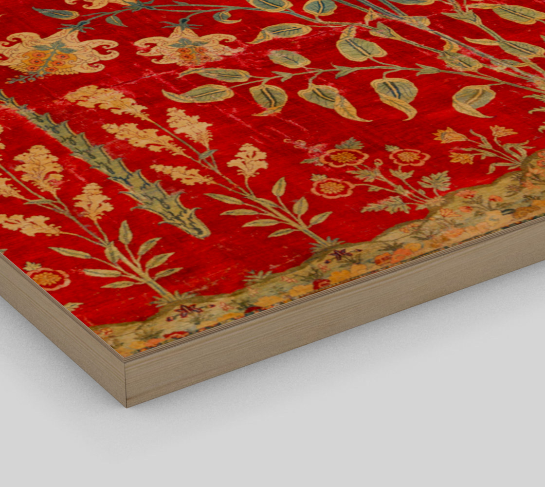 Aperçu de Boho Magic Carpet  - Red - Wall Art #3