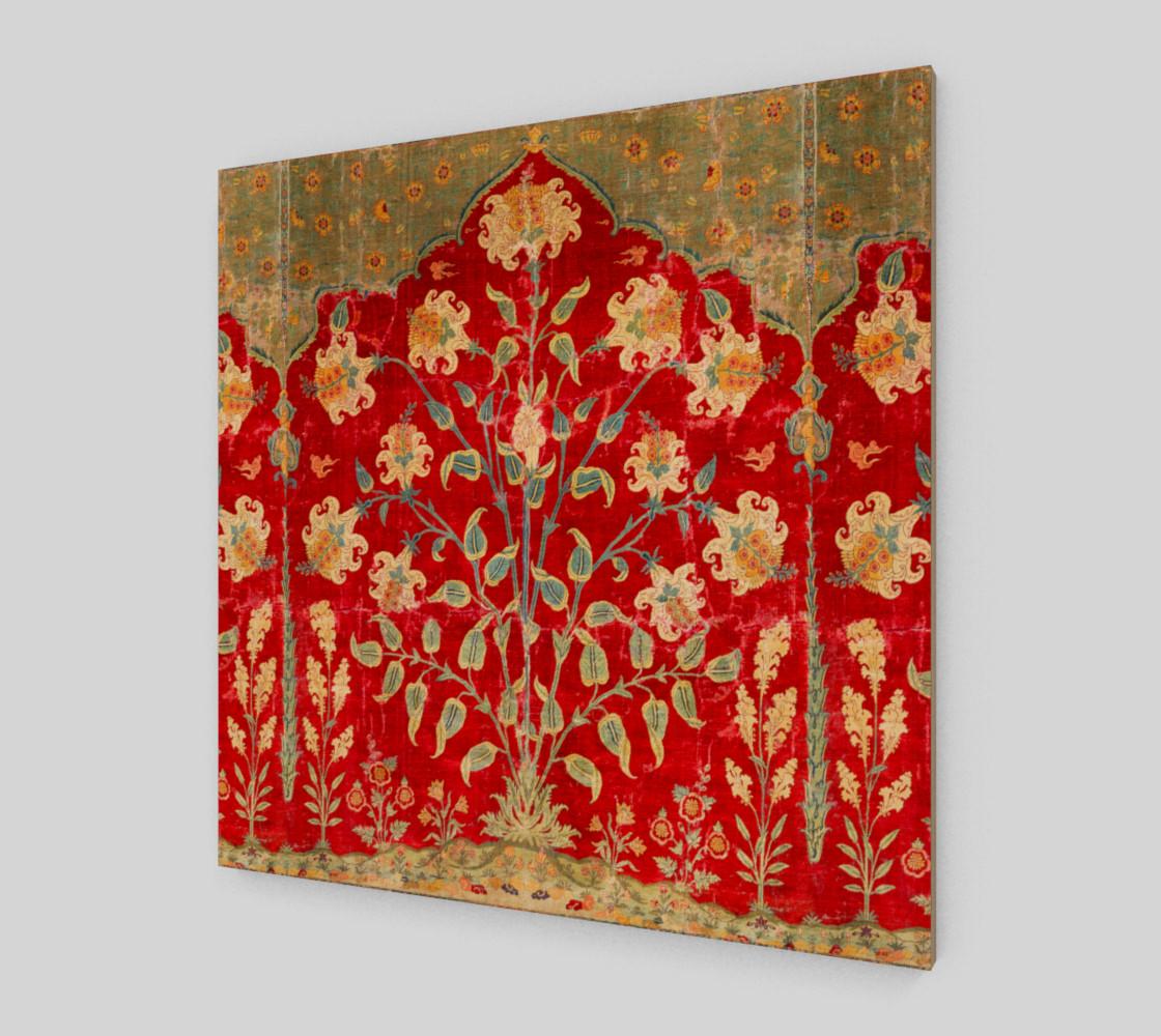 Aperçu de Boho Magic Carpet  - Red - Wall Art #2