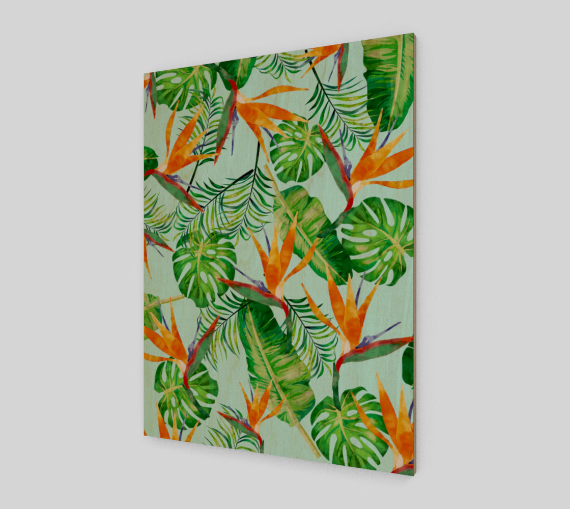 Tropical and exotic pattern preview #1