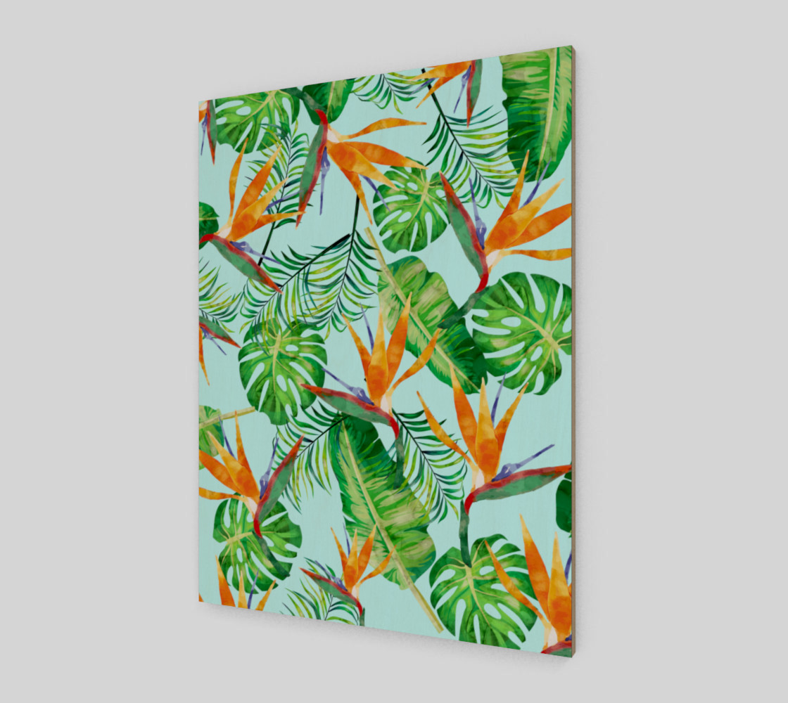 Tropical and exotic pattern preview #2