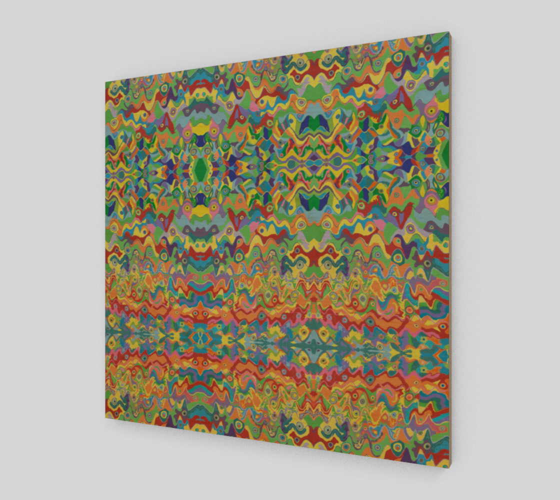 These Hills Abstract Art Pattern preview #1