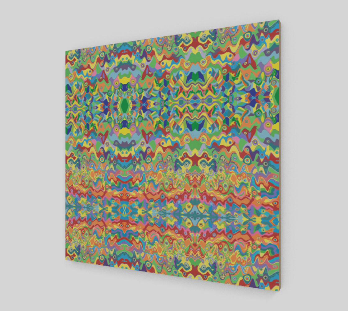 These Hills Abstract Art Pattern preview #2
